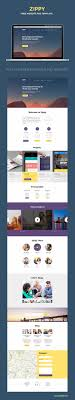Free One Page Website Template Psd Zippypixels
