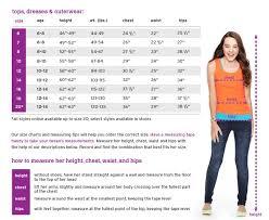 Shop Justice Size Chart Handy Dandy Size Chart Girl Fashion Fashion Outfits