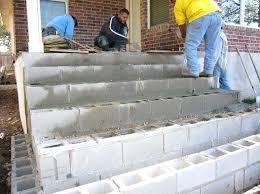 Diy concrete step Entry Concrete Step Blocks Making Steps With Cinder Blocks Using Concrete Blocks For Stairs Concrete Block Stairs Concrete Step Nerccinfo Concrete Step Blocks Precast Concrete Steps Concrete Block Stairs