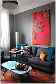 Red And Turquoise Living Room 17 Best Images About Living Rooms On Pinterest Grey Walls Grey