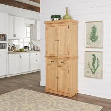 Kitchen Storage Furniture Light Brown Wood Food Pantries Kitchen Storage Furniture