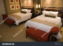 designer beds and furniture. Designer Bedroom With Two Queen Size Beds And Stylish Furniture. Furniture O