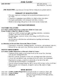 Example Resume  Resume Sample For Customer Service Position     Binuatan