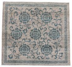 Traditional Tibetan Rug, 3x3 Area-rugs  Houzz