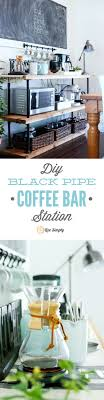 build your own home office. build your own coffee bar this project is made with industrialstyle black pipes home office n