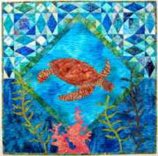 Hawaiian Quilt Patterns, Hawaiian Quilts, Kits from Quilt Hawaiian ... & The honu or Hawaiian sea turtle is a symbol of peace, longevity, humility  and the spirit within. The belief is that the honu will ... Adamdwight.com