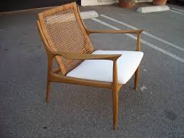nice and elegant lines in this caned back chair just amazing and great modern lines