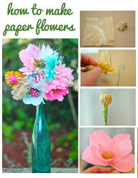 Make Flower With Paper How To Make Paper Flowers With Courtney Cerruti Dear Handmade Life