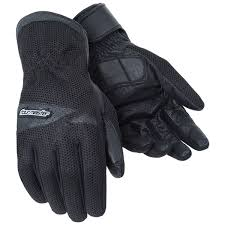 mesh and vented motorcycle gloves