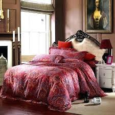 paisley sheets king queen comforter sets cotton red bedding luxury size ralph lauren sheet