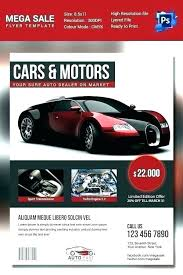 Car Dealership Flyer Templates Car Advertisement Template Car For Sale Sign Template Word