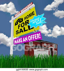 Make A For Sale Sign Stock Illustration Home For Sale Sign Desperate To Sell