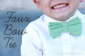Bow Tie Sewing Pattern Magnificent Inspiration Design