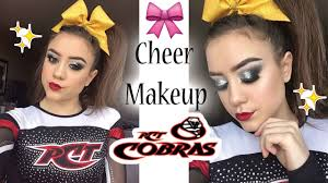 cheer makeup tutorial pct cobras