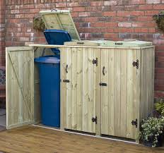 recycling bin storage. Perfect Bin Outdoor Recycling Bin Storage DIY  Wheelie Storage Combination Double   2 Recycle Box  And