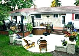 Backyard Deck Design Ideas Cool Outdoor Deck Ideas Silverweb