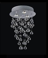 cheap chandelier lighting. 12-inch X 18-inch Crystal Rain Drop Chandelier In Polished Chrome Cheap Lighting