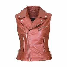 2019 women faux leather vests las novelty motorcycle zippers embossed pu vest slim tactical rivet waistcoat female european drop from chencloth66
