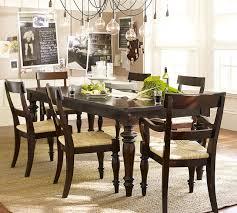 turned leg dining table. Pottery Barn Montego Turned-Leg Dining Table Turned Leg R
