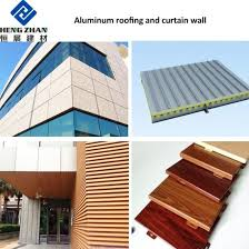 corrugated metal materials aluminium sheet for roofing and ceiling to africa market