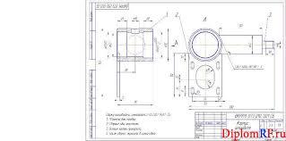 Выпускная квалификационная работа по организации зоны ремонта ГРМ  все чертежи