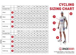 Triathlon Club Kit Suit Sizing Guide Raceskin