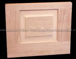a pleted raised panel door portion