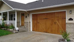 garage door magnetsGarageSkins Give You a Wood Look Without the Cost