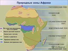 Презентация на тему Природные зоны Африки класс Природные  4 Природные зоны Африки