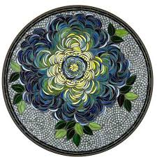 giovella 42 round mosaic dining table