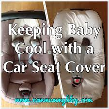 all i did was use one of baby h s old fitted crib sheets 90x40cm pop it over the car seat and cut some holes for the straps
