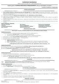 How To Write A Good Resume And Cover Letter Example Of A Good Resume