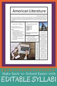 Free Syllabus Templates For Teachers Spark Creativity
