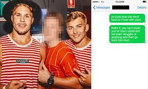 Coup de cœur de la matinale. Jack De Belin And Callan Sinclair Rape Trial Continues With Text Messages Revealed Daily Mail Online