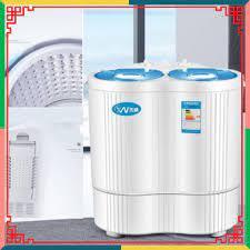 Máy giặt mini 2 lồng giặt kiêm chức năng sấy khô [Giá đẳng cấp]