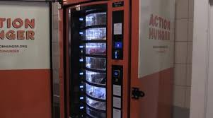 Vending Machine Accidents Beauteous WATCH Charity Launches First Vending Machine For The Homeless