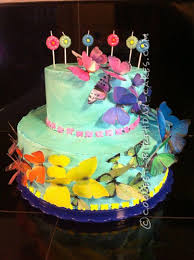 Birthday Cakes Gorgeous And Easy Beautiful Butterfly Cake