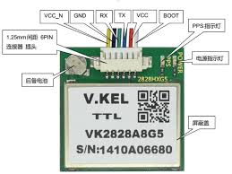 products modules gps vk2828u7g5 modtronix pin description