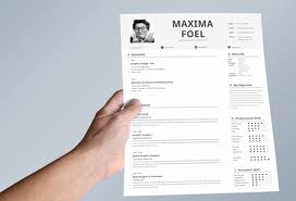 Simple Indesign Resume Template