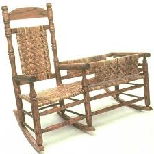 View a Larger Image of Woodworking Project Paper Plan to Build Nanny Rocking  Chair with Cradle