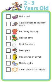 Sample Chore List Chores By Age The Trip Clip 16