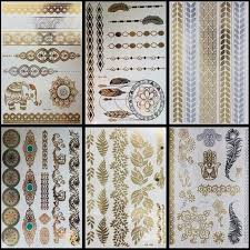 Temporary Tattoo Body Art Sleeve Arm Flash Tattoo Stickers 21 X 15cm Waterproof Tatto Henna Fake Tatoo 6pcslot 6pcs