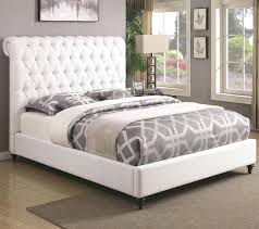 diy upholstered bed. Upholstered Bed Frame Como Black Leather King Without Headboard Diy A