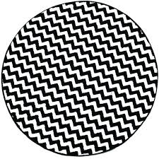 white circle rug black and add a touch of modern design with this striped round area plush white circle rug