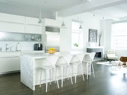 Mini Pendant Lights Kitchen Contemporary With Bar Stools Breakfast Bar.  Image By: Chelsea Atelier Architect PC