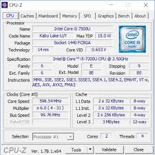 intel's 7th generation core cpu
