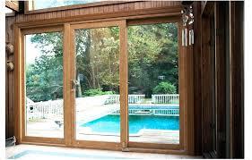 triple sliding glass door triple sliding glass patio doors amazing impressive four panel home triple sliding triple sliding glass door