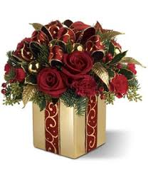 christmas floral arrangements | Holiday Gift Bouquet: Holiday Flowers,  Christmas Flower Arrangements .