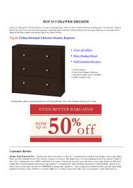 Easy To Assemble Dresser64