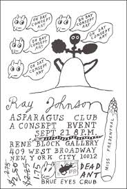 Ray Johnson : Asparagus Club A Consept Event - Specific Object